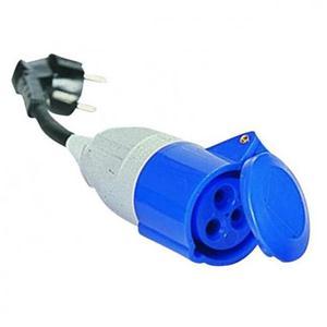 Prodotto 38 adattatore con cavo maschio schuko presa for Presa schuko collegamento cavi