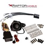 KIT ALLARME RAPTOR CAN BUS CON CABLAGGIO CAN BUS