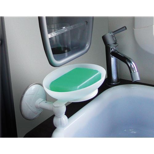 Accessori Da Bagno Con Ventosa.Prodotto 2610 Porta Sapone A Ventosa No Brand Accessori Per Camper Caravan Acqua E Toilette Arredo Bagno