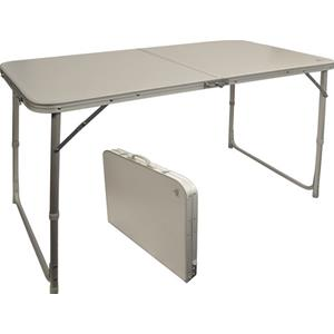 Tavolo Pieghevole Valigetta.Prodotto 10315 Tavolo Alluminio Pieghevole Valigia 4p 120 X 60 Via Mondo Accessori Campeggio E Giardino Outdoor Campeggio Tavoli Sedie Poltrone