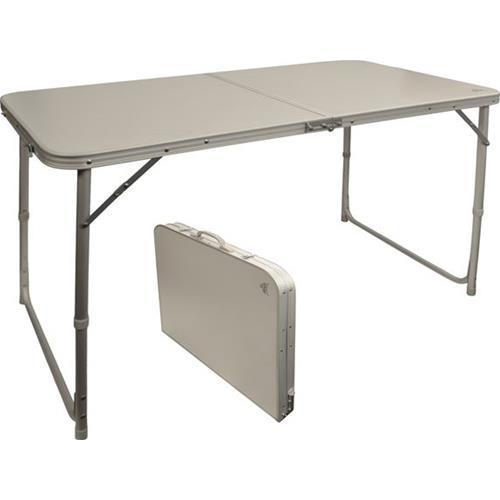 Prodotto 10315 tavolo alluminio pieghevole valigia 4p 120 x 60 via mondo accessori - Tavolo pieghevole a valigia ...