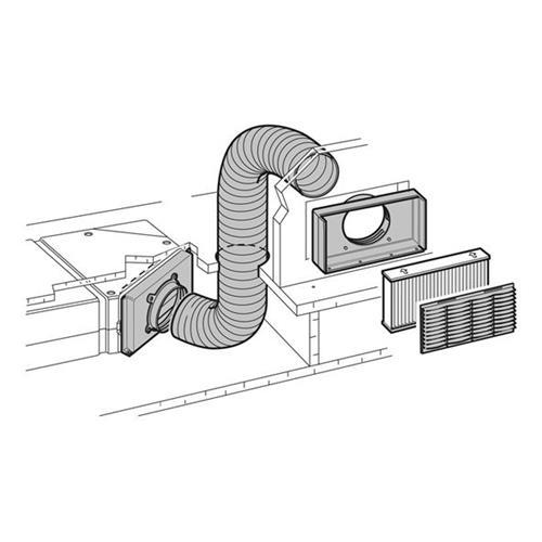 Prodotto 10407 climatizzatore saphir kit presa aria - Presa aria cucina ...