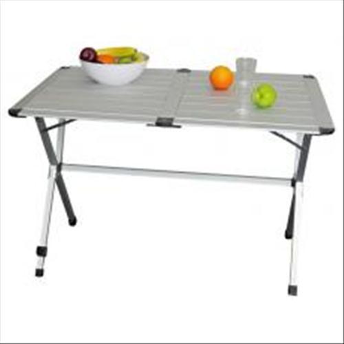 Tavolo Arrotolabile Campeggio E Outdoor.Prodotto 1200 Tavolo Alluminio Pieghevole Gap Less 4p 110 X 70