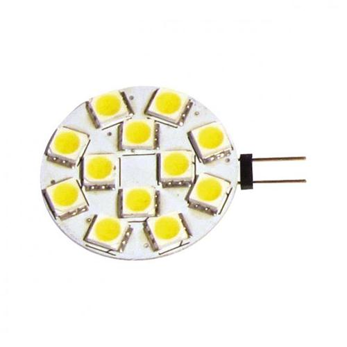 LAMPADA LED G4 200LUM 2,2W 12-24V ATTACCO LATERALE BLISTER 2PZ